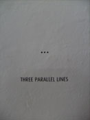 Three Parallel Lines